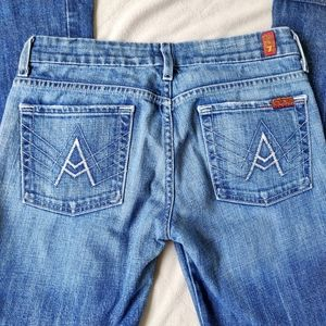 """🌹 3/$30 7 For All Mankind """"A"""" Pocket Bootcut Jean"""